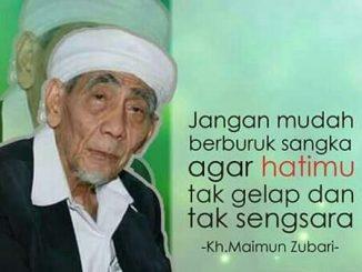 Kata Mutiara KH. Maimoen Zubair